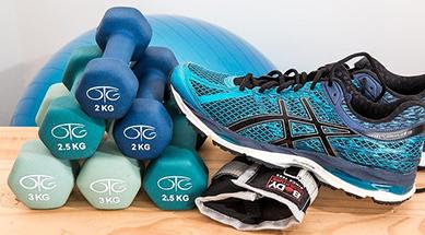 Sport, trening og fritid