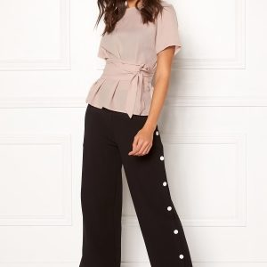 BUBBLEROOM Alanya trousers Black XXL Styleway.no