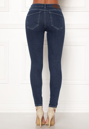 nora skinny dark blue denim