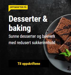 desert og baking